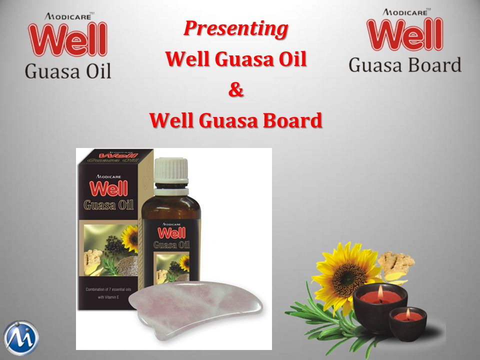 Well Guasa Oil Combination of 7 essential oils enriched with Vitamin E.