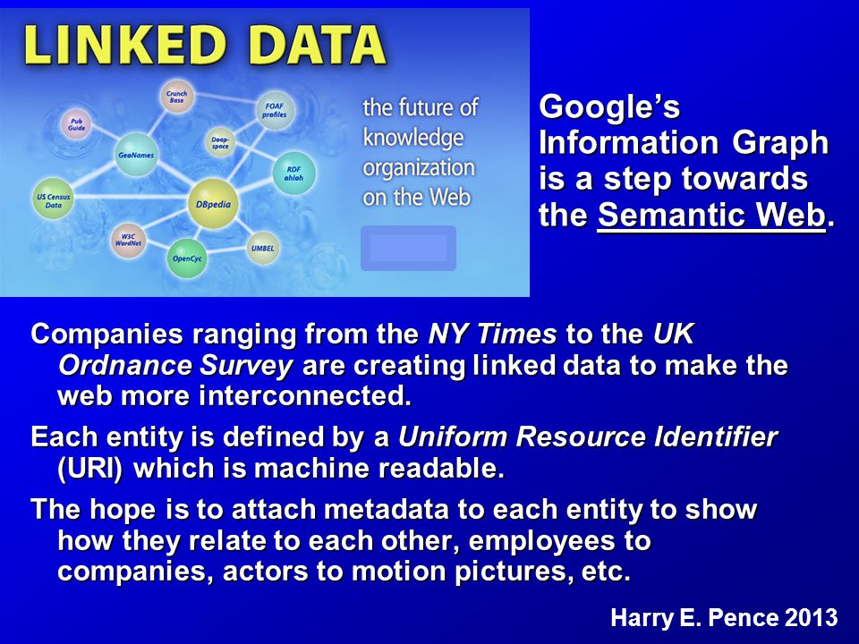 Companies ranging from the NY Times to the UK Ordnance Survey are creating linked data to make the web more interconnected.