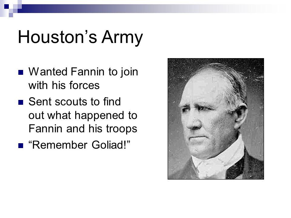 Battle of San Jacinto Remember the Alamo.
