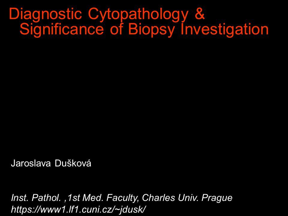 Morphological Diagnostic Methods v Clinical v Pathological