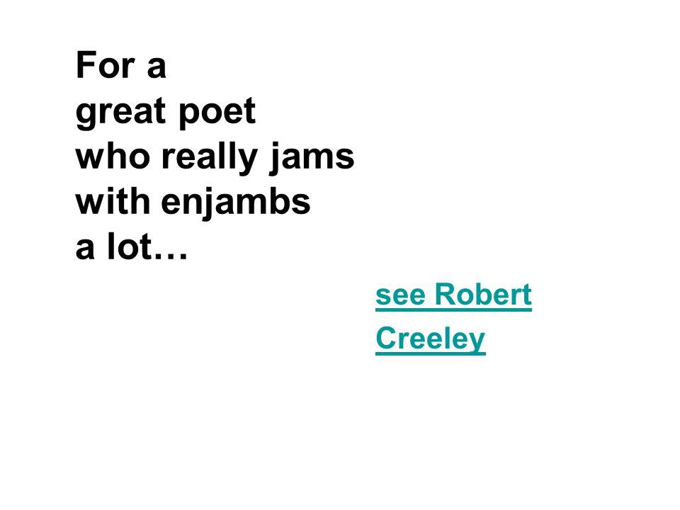 What determines stanza breaks in free verse.