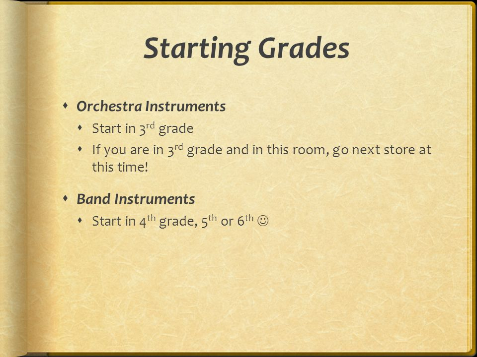 Expectations and Scheduling  Attendance is as mandatory for the instrumental music program as it is for school in general.