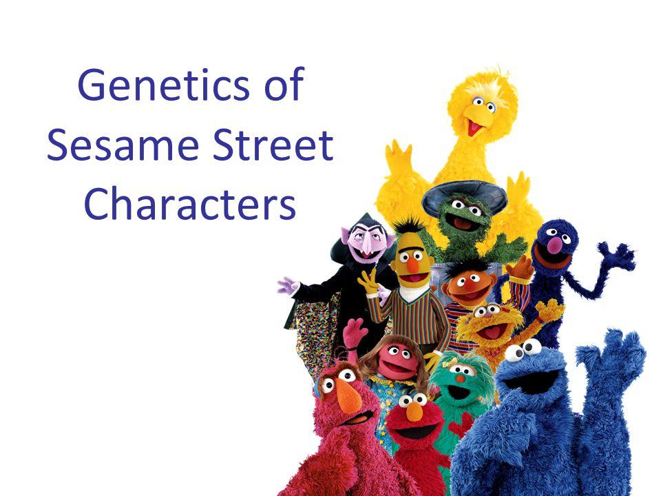 Genetics of Sesame Street Characters