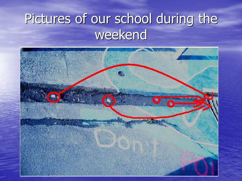 Pictures of our school during the weekend