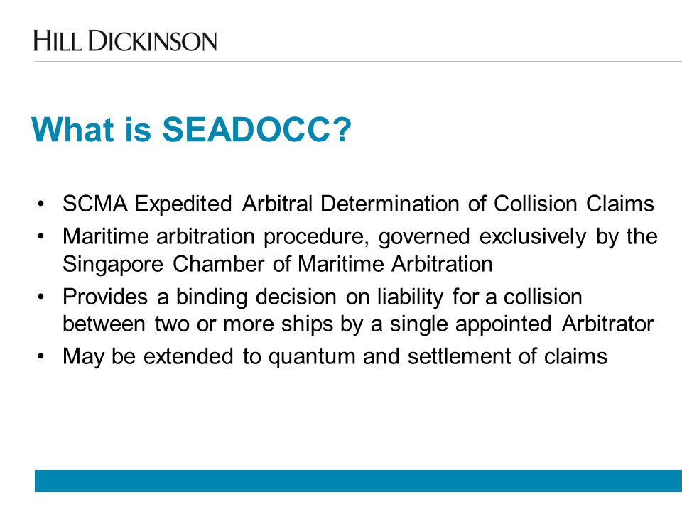 What is SEADOCC.