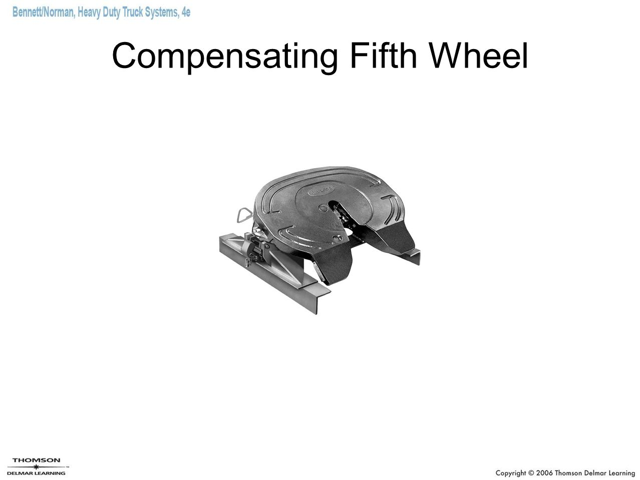 Compensating Fifth Wheel