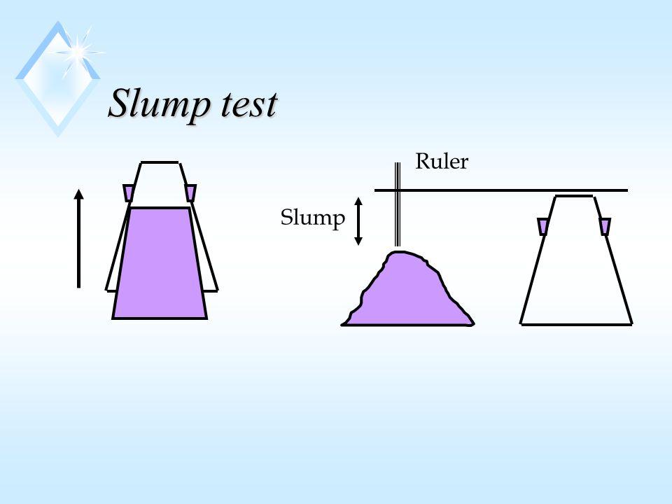 Slump test Slump Ruler