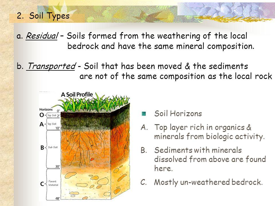 2. Soil Types a.