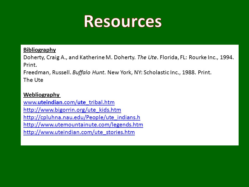 Bibliography Doherty, Craig A., and Katherine M.Doherty.