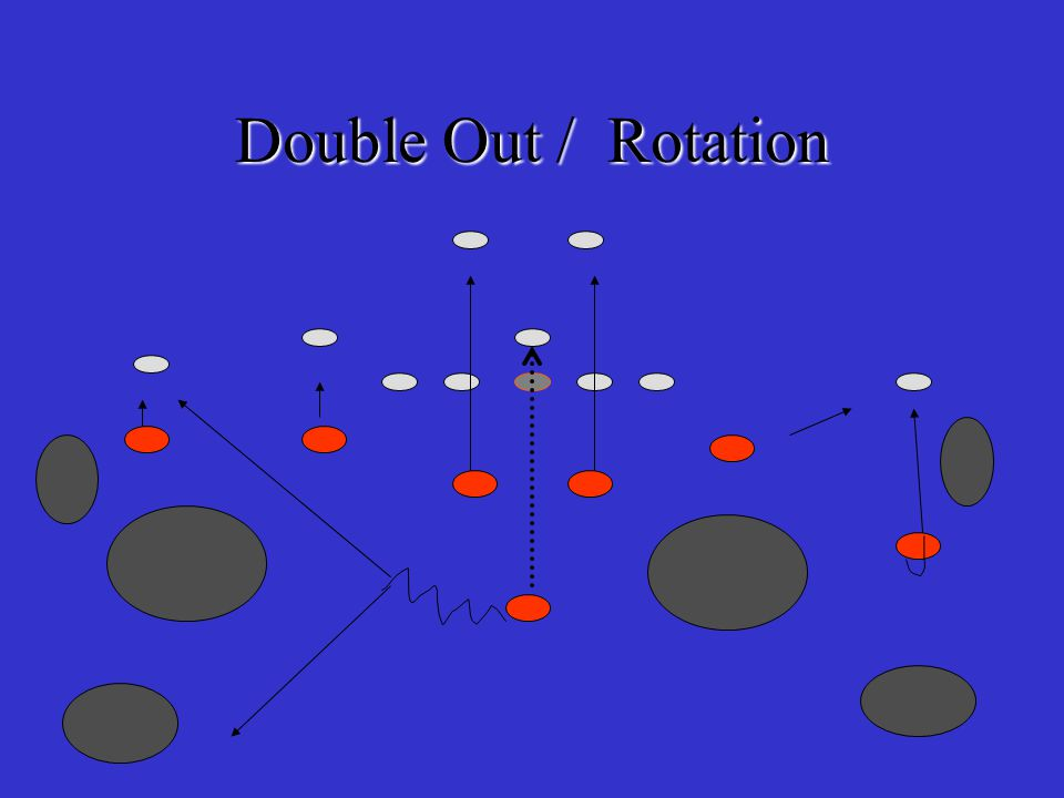 Responsibility Double Outs B5 – man on man w/ tightend, jack at line make him pay.
