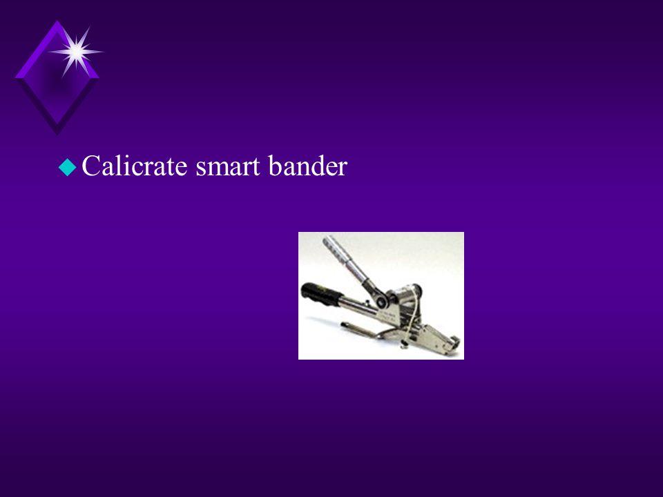 u Calicrate smart bander