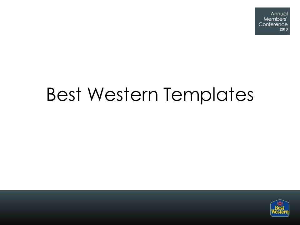 Best Western Templates