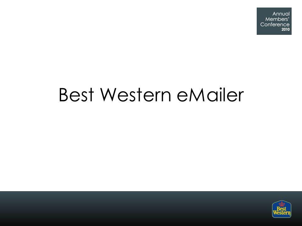 Best Western eMailer