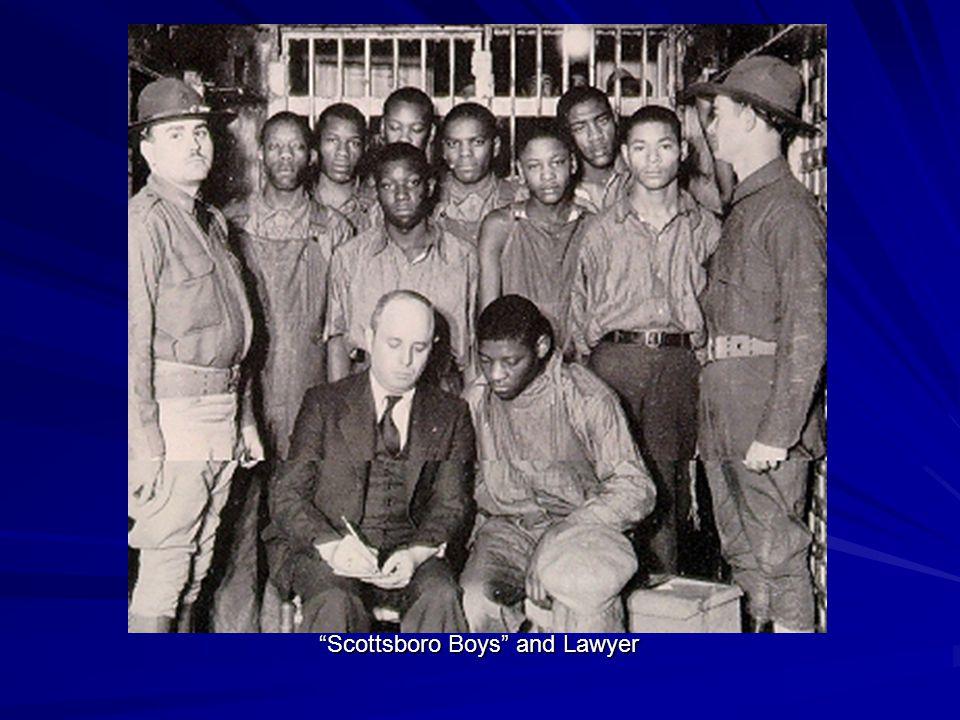 Scottsboro Boys and Lawyer