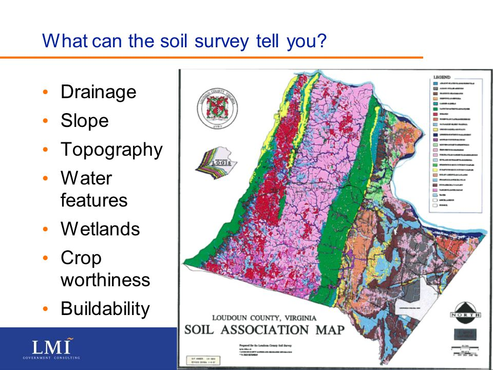 P A G E 15 What can the soil survey tell you.