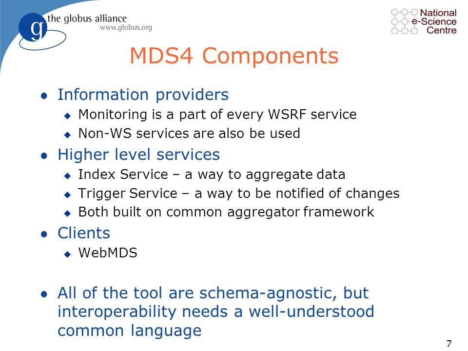 18 WebMDS Service