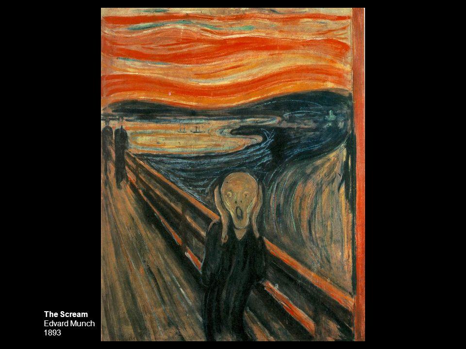 Anxiety Edvard Munch