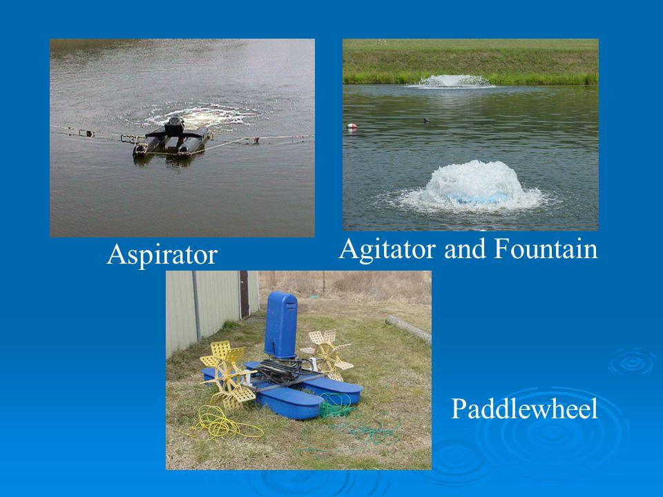 Aspirator Agitator and Fountain Paddlewheel