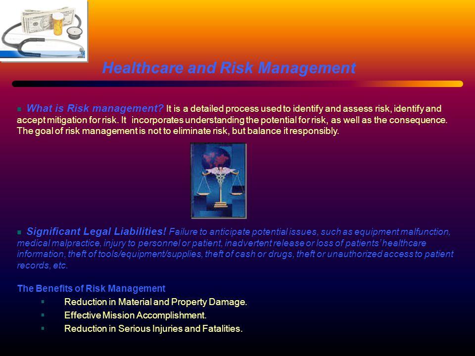 Significant Legal Liabilities.