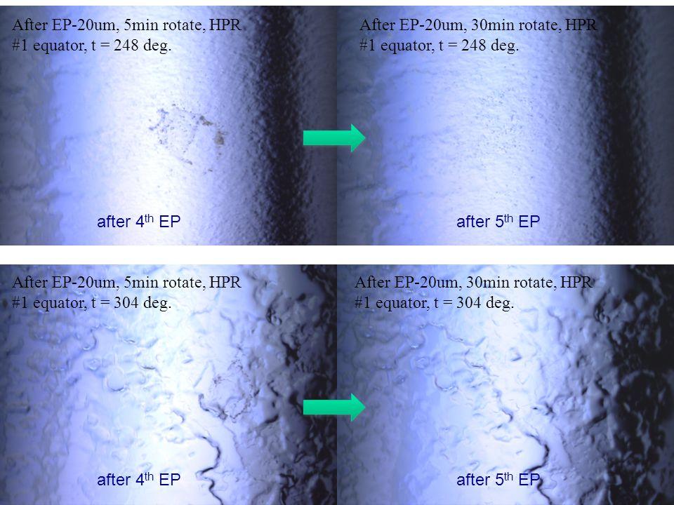 After EP-20um, 5min rotate, HPR #1 equator, t = 248 deg.