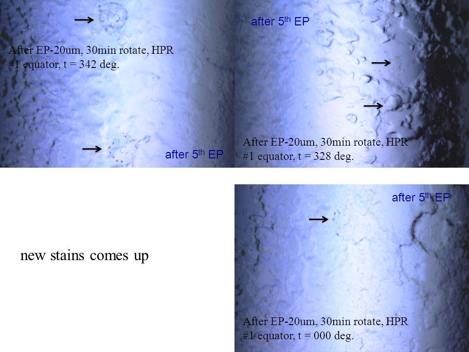 After EP-20um, 30min rotate, HPR #1 equator, t = 342 deg.