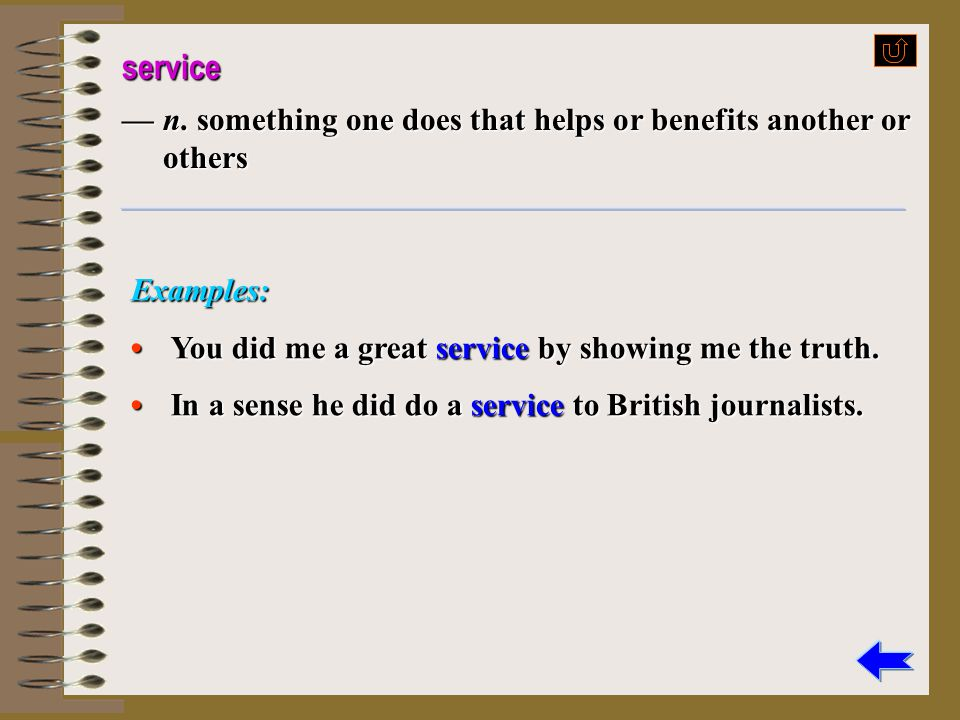 render vt. 1)give (esp. sth. abstract, such as help, service, thanks, etc.) 2)cause (sb.