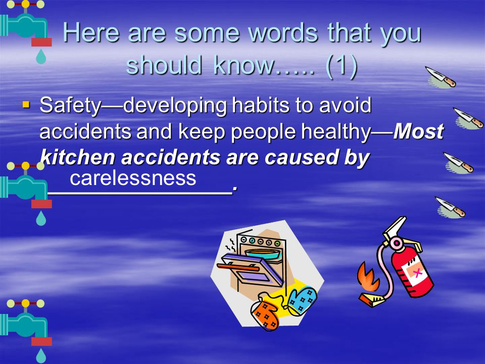Here are some words that you should know…..