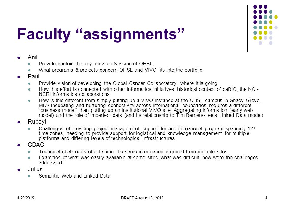 4/29/2015DRAFT August 13, 201255 Execute SPARQL Query Fig: SPARQL Query executed successfully 55 Wednesday, April 29, 2015