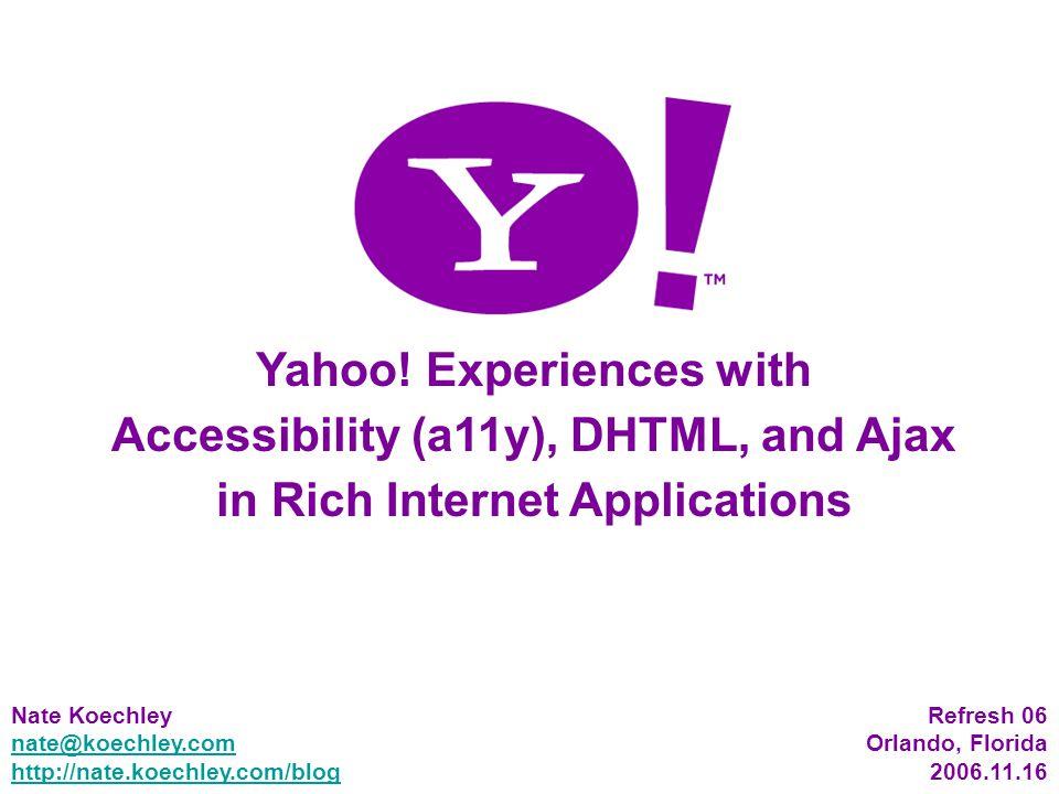 1 Yahoo.