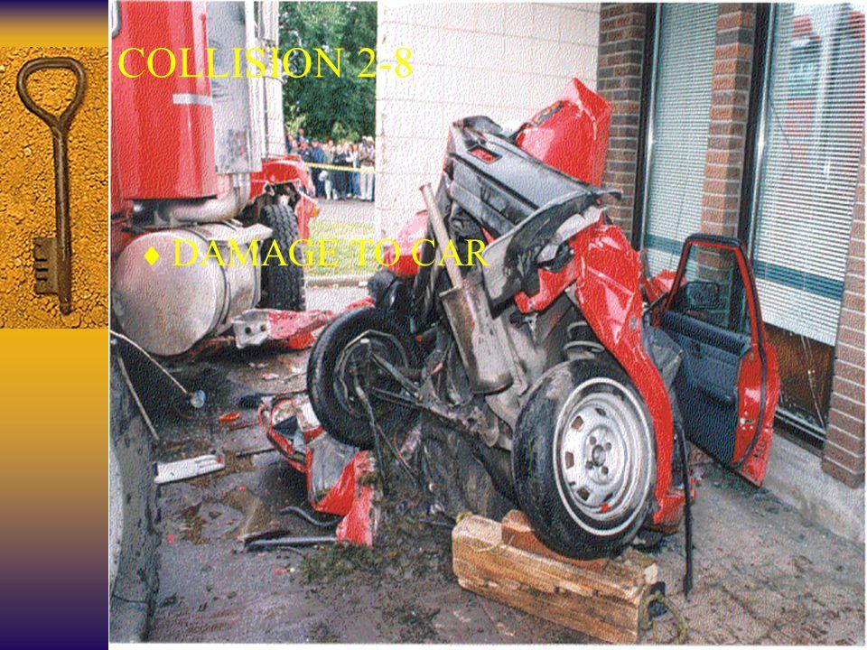 37 COLLISION 2-8  DAMAGE TO CAR