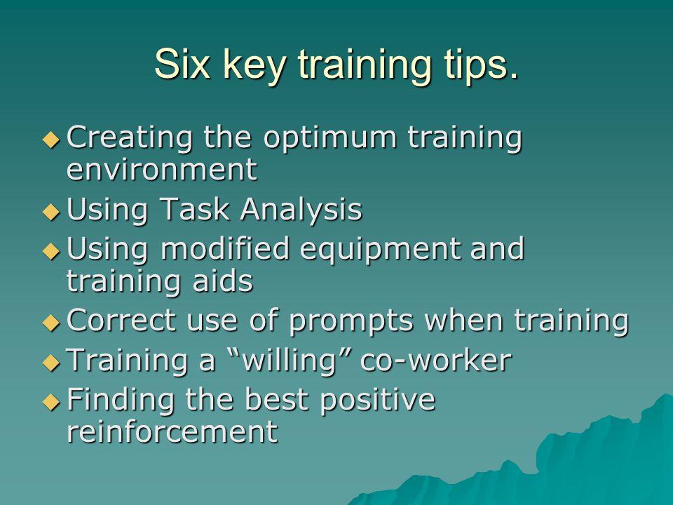 Task Analysis  Do the job yourself several times.