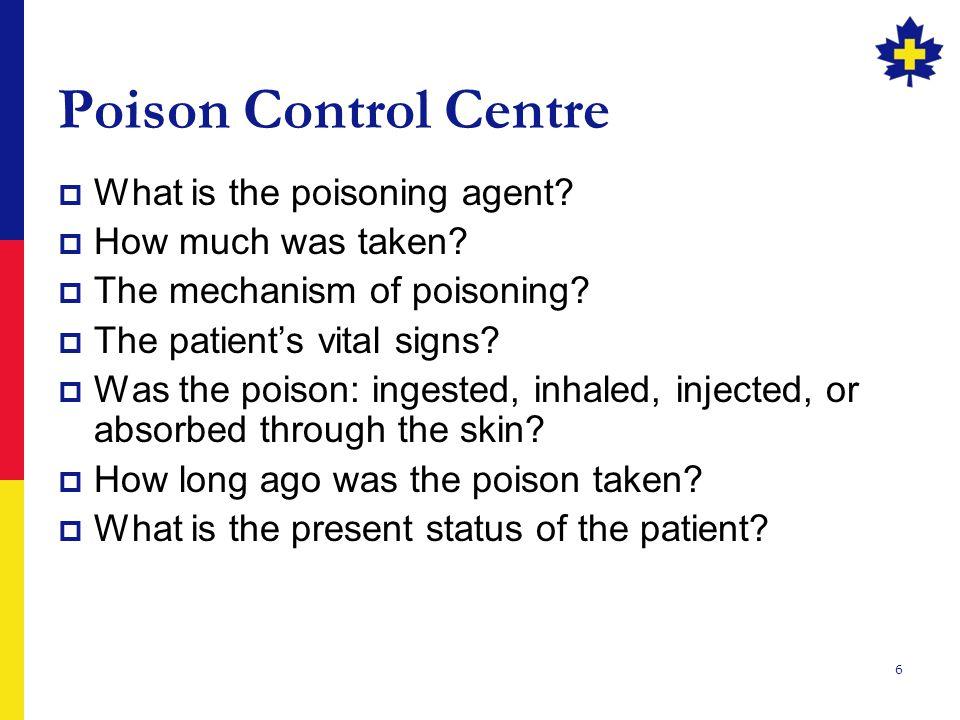 7 Poison Control Centre - 911  Alberta 1-800-332-1414  British Columbia 1-800-567-8911  Manitoba 911  New Brunswick 911  Newfoundland (709) 722-1110  Northwest Territories (867) 669-4100  Nova Scotia 1-800-565-8161  Ontario 1-800-268-9017  PEI 1-800-565-8161  Quebec 1-800-463-5060  Saskatchewan 1-866-454-1212  Yukon (867) 393-8700
