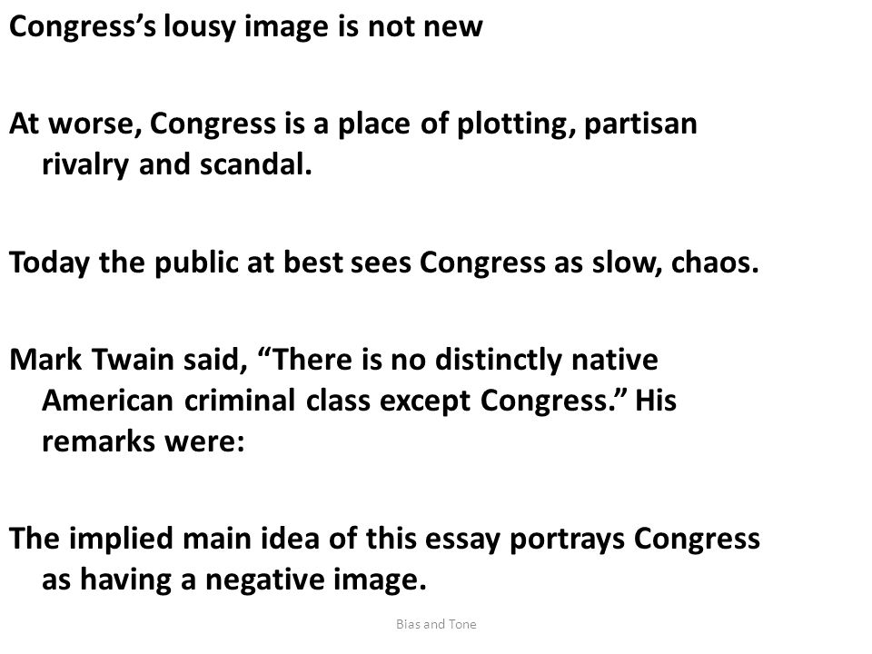 Congress's lousy image is not new At worse, Congress is a place of plotting, partisan rivalry and scandal.