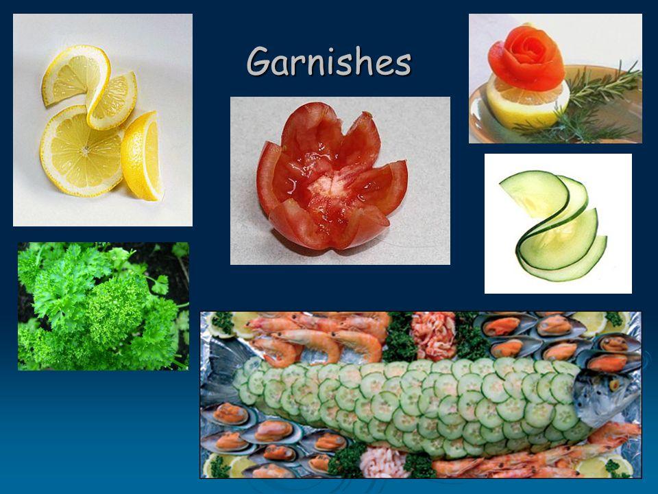 Garnishes