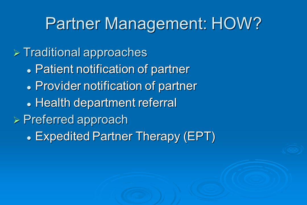 Partner Management: HOW.