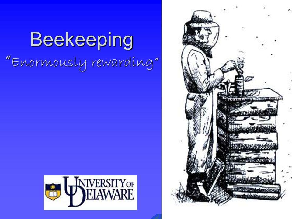 """Beekeeping """" Enormously rewarding"""""""