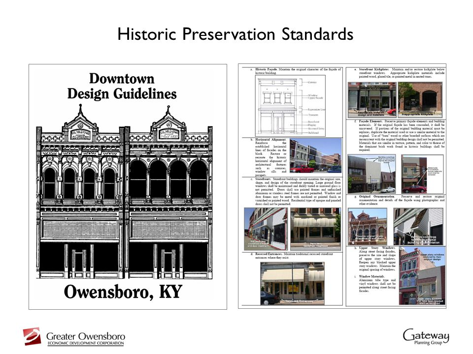 Historic Preservation Standards
