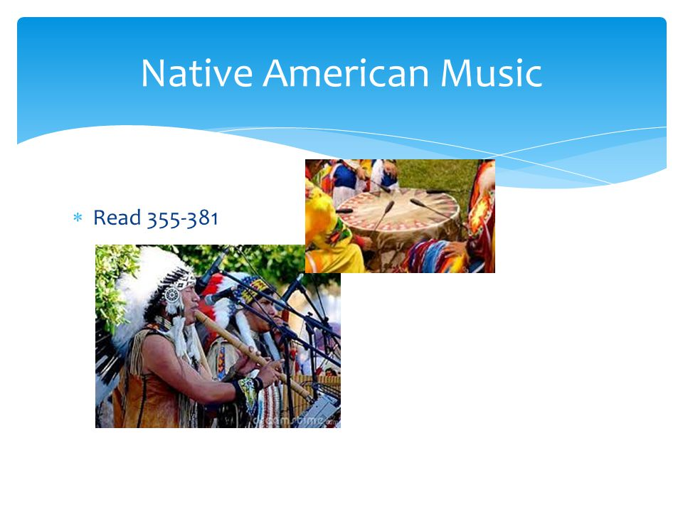  Read 355-381 Native American Music