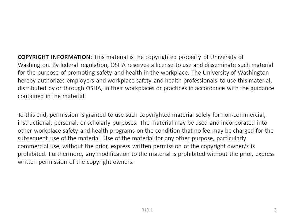 COPYRIGHT INFORMATION: This material is the copyrighted property of University of Washington.