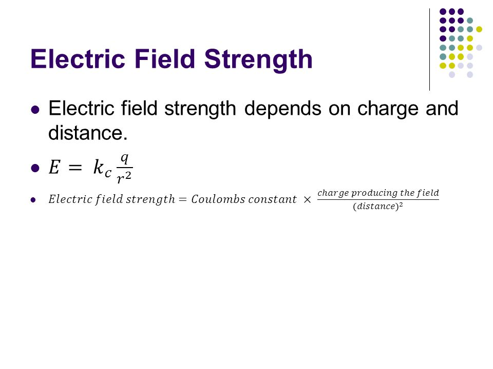 Example Problem #3 A typical thundercloud has an electric field of about 3.0 x10 5 N/C.