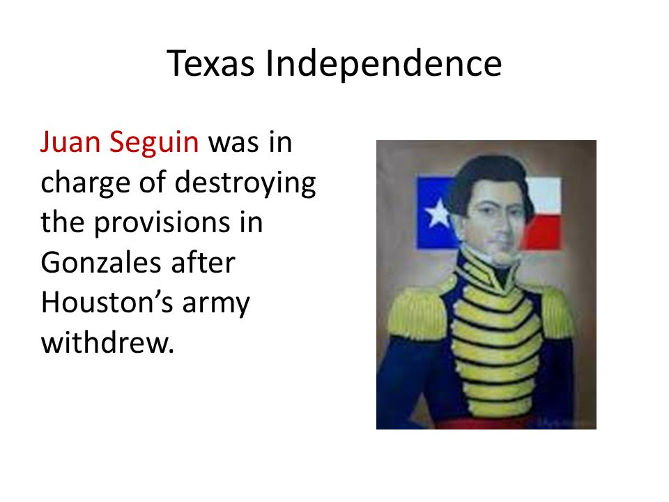 Texas Independence Texas leaders signed the Declaration of Independence from Mexico on March 2, 1836.