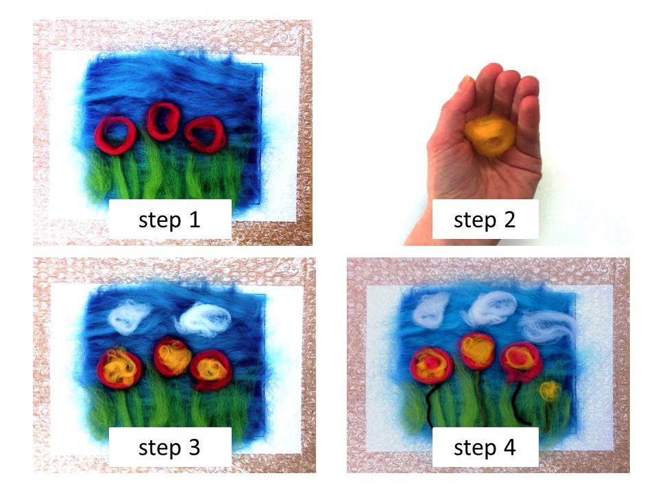 step 1step 2 step 3step 4
