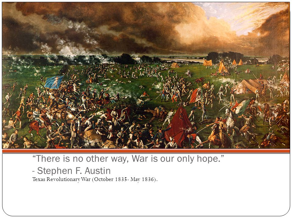 The Cause of the War Due to the Fredonian Revolt, the Mexican Government enacted more strict laws against the Texans, which caused them to rebell.