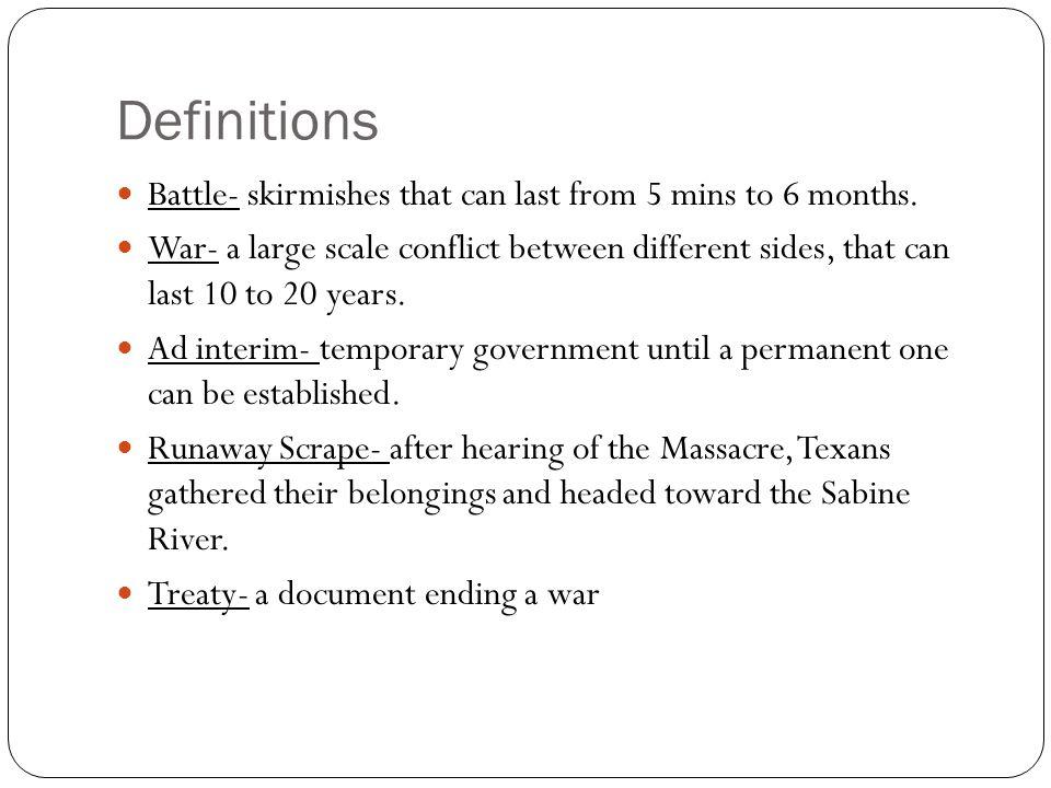 Texas Declaration vs.U.S. Declaration Texas Declaration (1836)U.S.