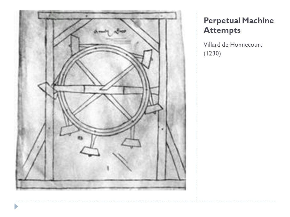 Perpetual Machine Attempts Leonardo da Vinci's Model
