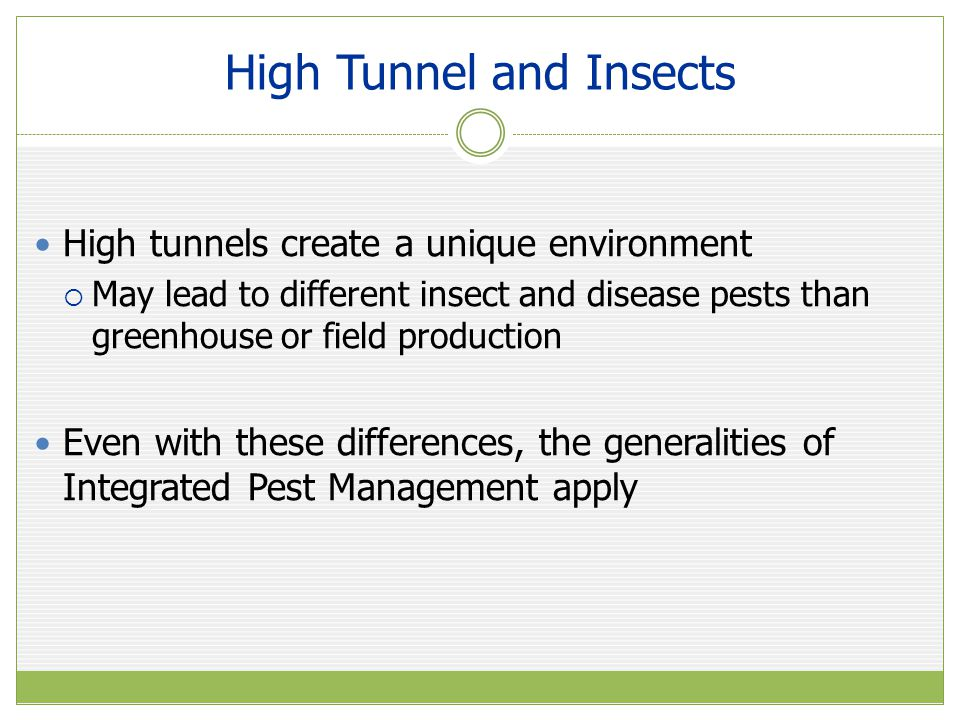 Integrated Pest Management Commonly known as IPM Common-sense, holistic approach Uses knowledge of plants, pests, and the environment sensibly to reduce number of pests.