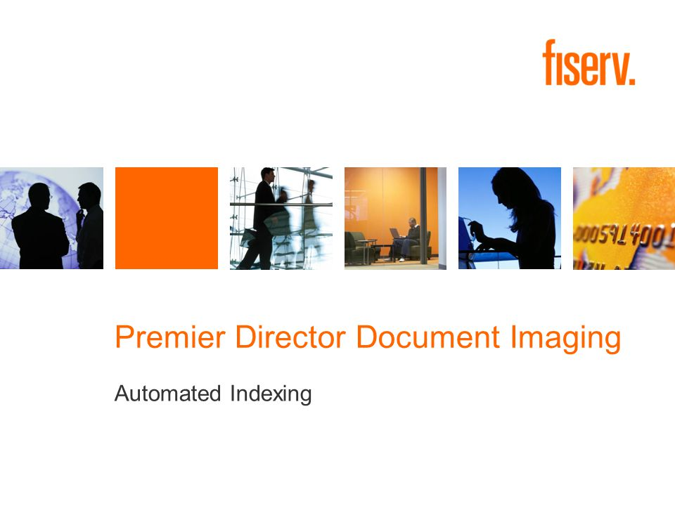 Premier Director Document Imaging Automated Indexing