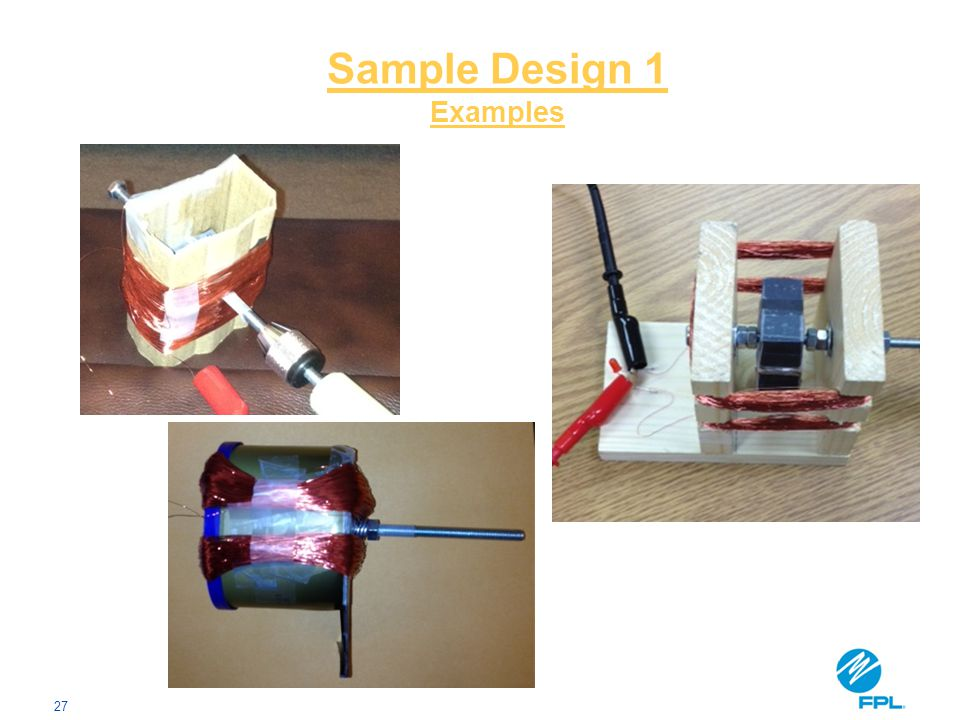 27 Sample Design 1 Examples