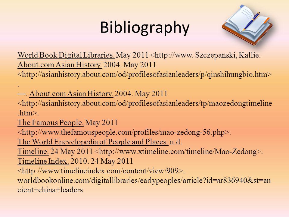 Bibliography CultureGrams.2004. May 2011. CultureGrams.