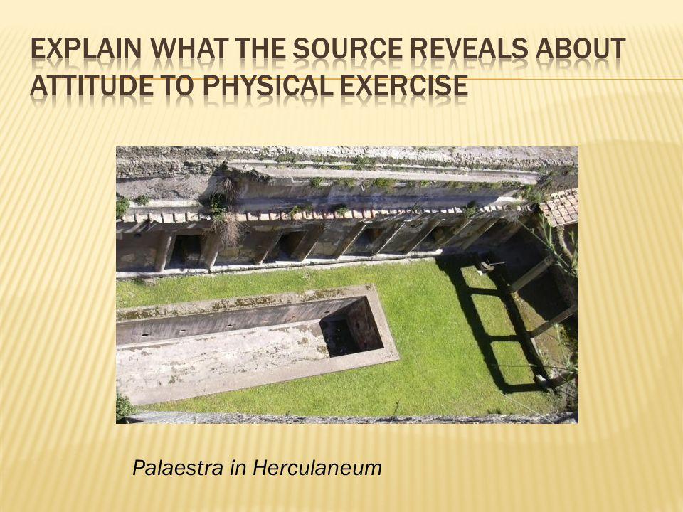 Palaestra in Herculaneum